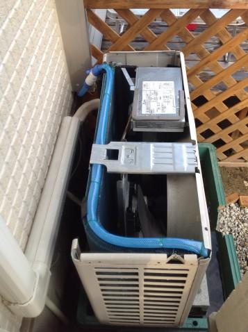 【約40%冷房節電】エアコン改造の地中熱(井戸水)ヒートポンプ