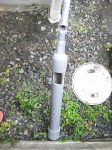 弁利用型井戸掘り器という井戸掘り道具