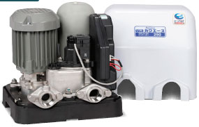 インバーター式の井戸ポンプ