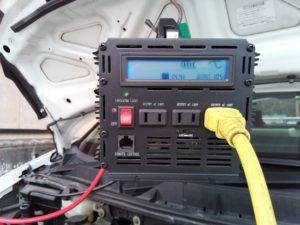 車載インバーターで井戸ポンプを動かす方法